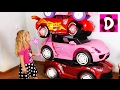 Bad Baby ПРЕВРАЩЕНИЕ Автопарка в БАШНЮ Вредные Детки Magic Little Driver on Power Wheels Cars