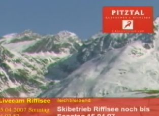 Pitzal Ski Cam (Austria)