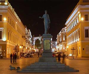 Одесса, Приморский бульвар